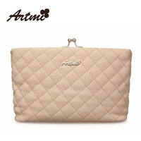 Free Shipping 2013 Designer spring small dimond plaid women's handbag chain vintage beads button small bag messenger bag