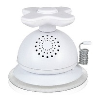 SY-980 bathroom AM FM Radio Loud Speaker / Water-proof Radio w/ Suction Cup - White