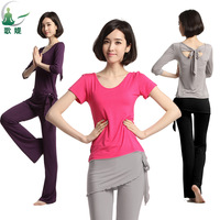 2013 spring and summer yoga clothes set yoga dance clothes fitness female piece set