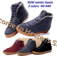 Free Shipping fur boots sports for men winter boots brand boots name 100% genuine leather boots top quality 40-44#