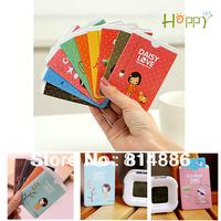 Happy365  bus card sets // card holder  Cartoon cute girl  Free shipping 10pcs/lot