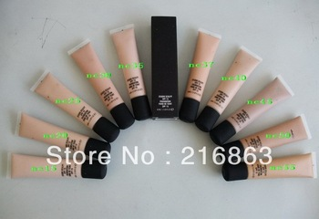 3PCS/Lot Feeshipping 10Color M LOGO STUDIO CSULPT SPF15 FOUNDATION FOND DE TEINT SPF15 40ML Profession Makeup Liquid Foundation