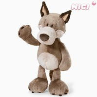 Free shipping 35cm NICI wolf cute birthday gift dolls for girls/boy Christmas gift kids baby toys new product Hot Selling