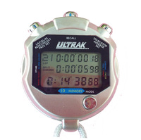 Metal stopwatch ultralarge 100 30 sports stopwatch 10 secondmeter