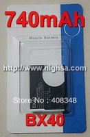 740mAh BX40 Battery Use for MOTOROLA V8/U8/U9/V9/V9m/V10/ZN5 etc Mobile Phones