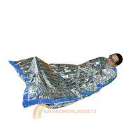 R1 New Emergency Reusable Waterproof Rescue Space Thermal Sleeping Bag 100x200cm