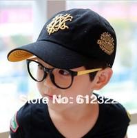 Free Shipping! wholesale 10pcs/lot 2013 Hot Sale baby baseball hats baby sun caps children big brim hat