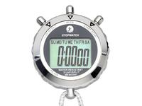 Ps-528 metal stopwatch big screen 2 single row stopwatch secondmeter timer
