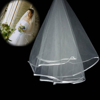 Evans classic wedding accessories fashion brief veil the bride accessories veil