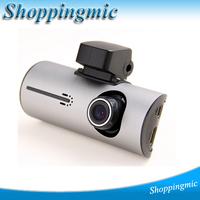 Dual Lens Car DVR mini X3000 AV with + 1280*720P 30FPS + G-Sensor + GPS Logger + RearView Camera + Remote Control