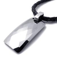 Tidal current male men's the boys titanium steel pendant necklace tungsten steel pendant personalized