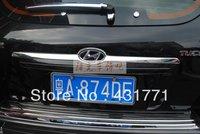 Free shipping 2005-2009 Hyundai Tucson ABS Chrome Rear Trunk Lid Cover Trim