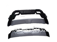 Kit Front+Rear Bumper Protector Fit For Renault Koleos 2012 2013 ABS