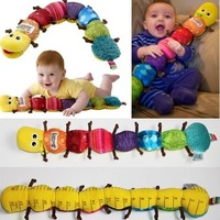 New Popular and Colorful Musical Inchworm Soft Lovely Developmental Baby Toy