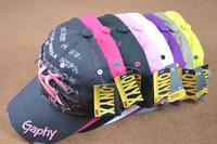 Baseball Cap Hiphop Bat Cutdoor Male Women's Fashionable Casual Summer Cap Sunbonnet Free Shipping