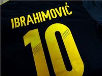 wholesale Ibrahimovic jerseys for Sweden 2013 2014 World Cup Black soccer uniforms