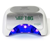 Free Shipping Safety  Energy-saving Save time 18W LED Nail UV Lamp Best Curing Effect Nail Dryer for UV Gel Nail Polish