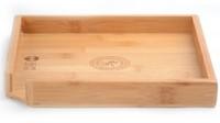 23cm*23cm natural bamboo tea tray, high quality exquisite wood tea board / tea dish