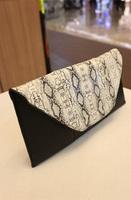 2013 women's handbag horizontal serpentine pattern clutch bag female portable fashion one shoulder cross-body clutch