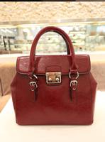 Ddpopo 2013 new arrival vintage bag deformation bags women's handbag oil waxing leather high quality handbag w696