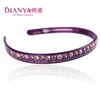 Elegant new arrival hair bands wide rhinestone headband hair maker accessories hair accessory full rhinestone 00227