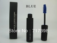 Waterproof Mascara Blue Professional Makeup PLUSH LASH Mascara Free shipping