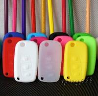 free shipping car key case cover wallet silica gel many colours for Haima 323 Family,Freema, Happin 50pcs/lot