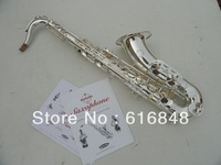Wholesale sales tenor saxophone drop B surface silver plating