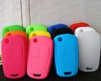 free shipping car key case cover wallet silica gel many colours Buick Regal, La Crosse, 2011 new GL8 50pcs/lot