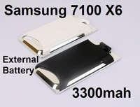 Battery Backup battery case for Samsung 7100 X6 3300mah Large Capacity