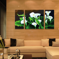 Frameless Calla lily diy digital oil painting 60 120cm paint by number kits acrylic painting unique gift