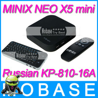 [Russian KP-810-16A] MINIX NEO X5 mini Android TV Box Mini PC Dual Core 1.6GHz 1G/8G WiFi USB RJ45 HDMI XBMC Smart TV Receiver