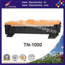 (CS-TN1000) BK toner laserjet printer laser cartridge for Brother TN-1000 HL-1110 DCP-1510 MFC-1810 MFC-1815 (1500pages)