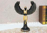 Free shipping original polyresin craft the Egyptians goddesses Candle Holder candelabra centerpieces/candelabra centerpieces