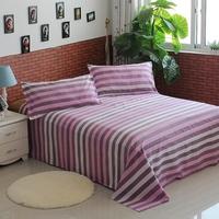 Cotton stripe 100% slanting print bed laguan 100% cotton single