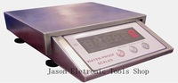 free shipping  304# stainless steel low temperature use  15kg 0.5g waterproof digital weighing scale