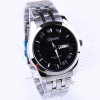 Free shipping Double calendar waterproof quartz watches male watch commercial watch 158176