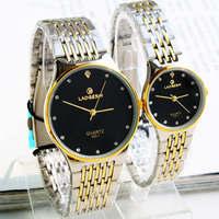 Exquisite brief lovers steel watch commercial lovers spermatagonial 155113