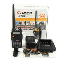 Free shipping 8W Dual Band VHF+UHF 136-174MHz&400-470MHz Two Way Radio TONFA UV-985 VOX DTMF Walkie Talkie
