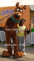 Hot Scooby Doo mascot costume Scooby - Doo clothing dog mascot costume free shipping