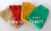 Free Shipping (5pcs/lot) NEW NEW NEW 2013 Branded Kid's Pants (Multi-Color For Optional) Children's Spring Autumn Trousers