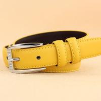 Strap women's strap cowhide belt rhinestone women's genuine leather strap red strap