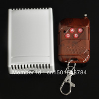 Wholesale ! NEW 12v 4 Channel Rf Wireless Remote Control Switch Receiver Module With Controller Free Shipping