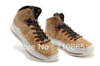 Free shipping Lebron 10 X cork Men basketball shoes,size41-46