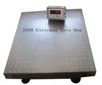 free shipping  big size scale pan 1000kg 50g  waterproof floor scale