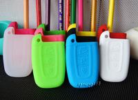 free shipping car key case cover wallet silica gel many colours for Hyundai Rohens-Coupe, Equus,Azera,Kia 50pcs/lot