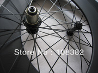 88mm clincher carbon road wheels with powerway hub 285g