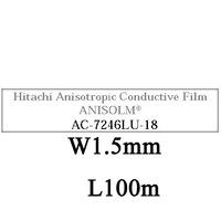 AC7246LU-18, W1.5mm, L100m, ACF tape Anisotropic Conductive Film, DHL/EMS Free Shipping!!