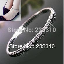 popular crystal anklet