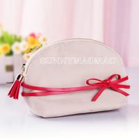 Menlinkai menlinkai beige bags cosmetic bag make-up combination